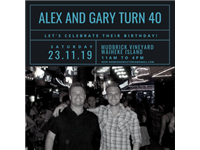 Alex and Gary's 40th Birthday profile photo